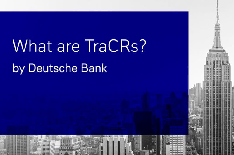 What are TraCRs?