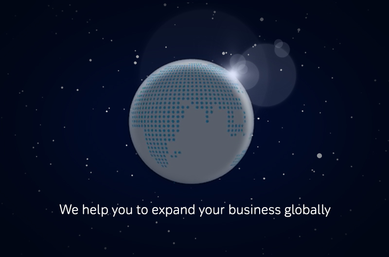 We help you to expand your business globally