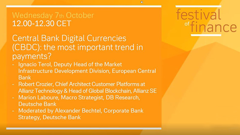 Central Bank Digital Currencies (CBDC): the most important trend in payments?